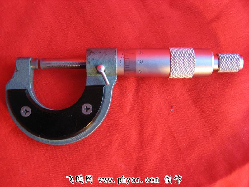 标题:【力学图片】长度的测量:测量工具-螺旋测微器(三) 点击数:824次 发表时间:2021-03-31